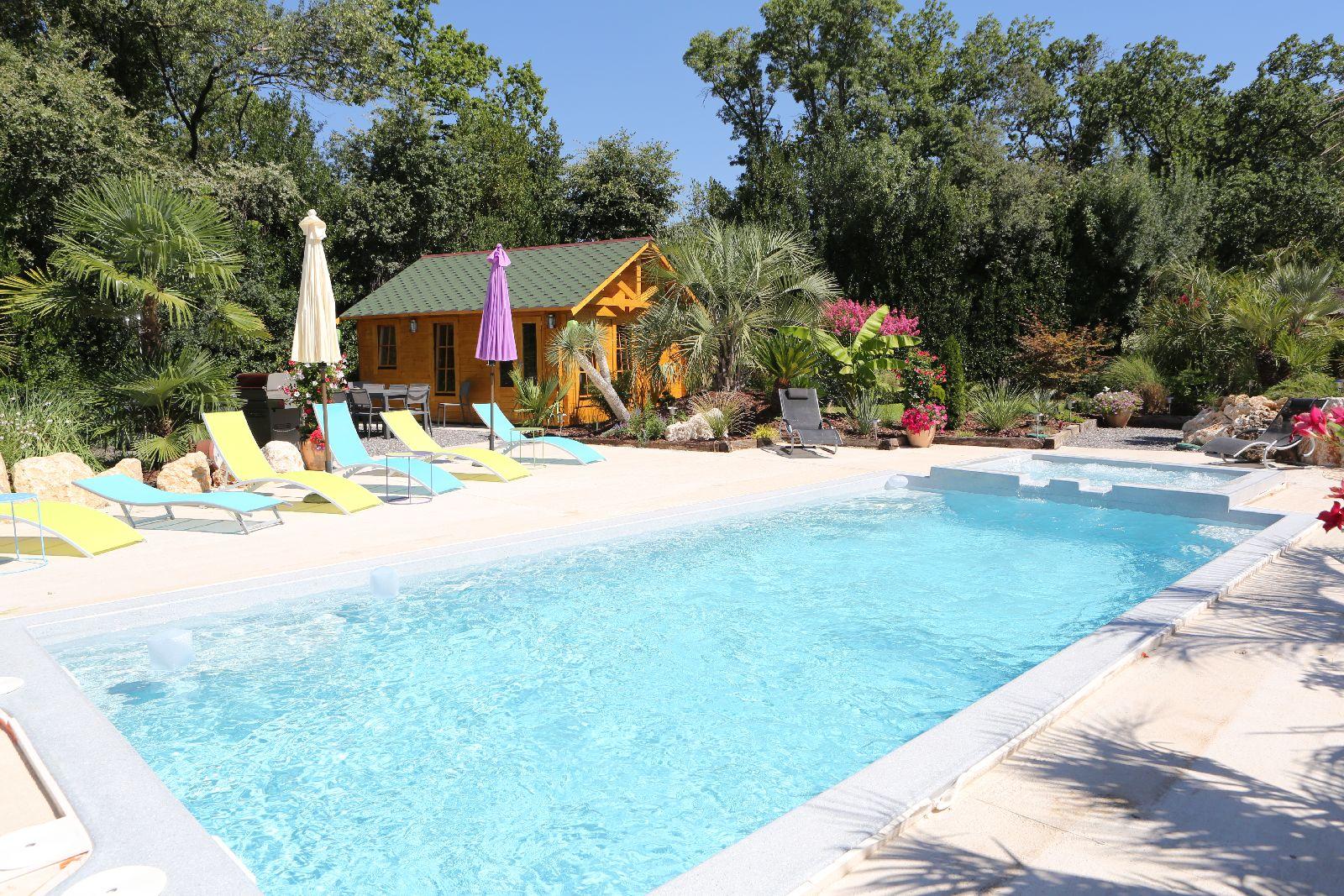 Oasis de Boisset La Villa... illustration en images...